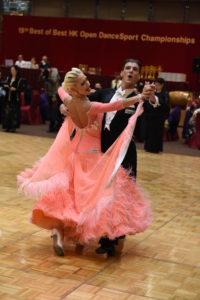 公開職業標準舞冠軍表演