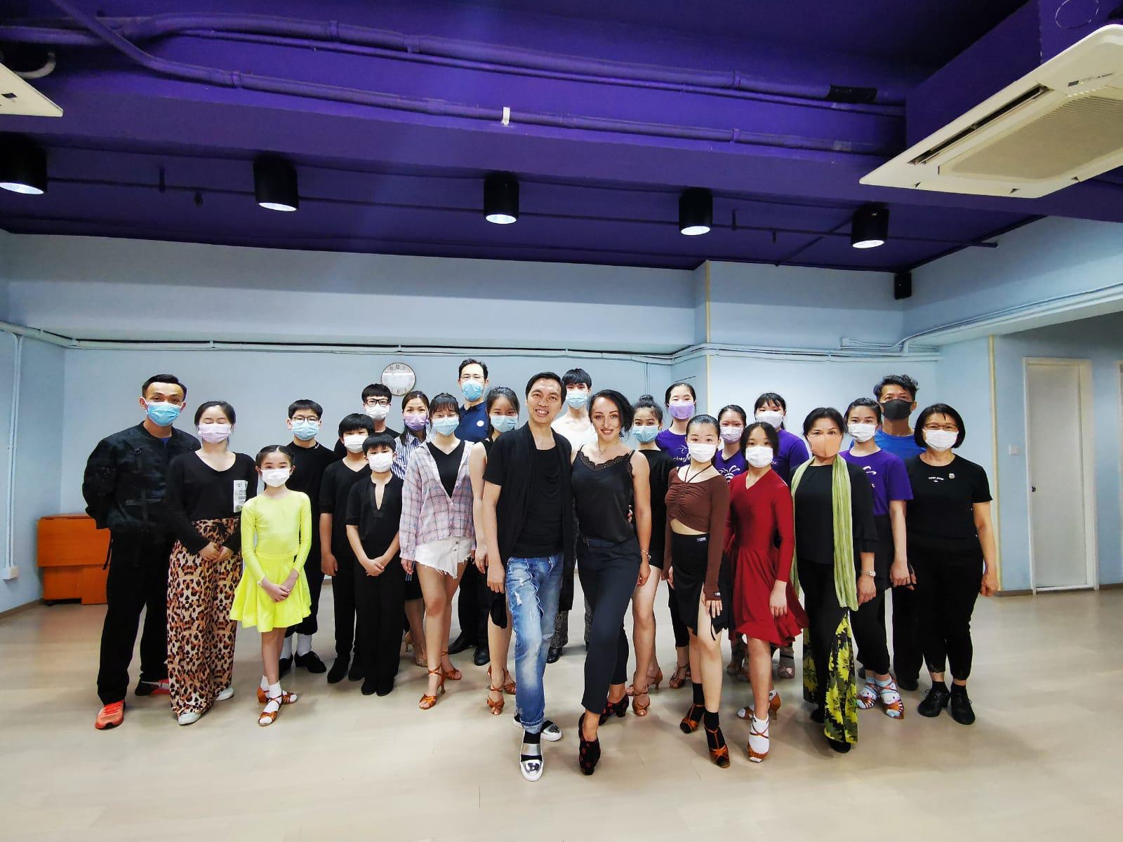 HKBDI 主辦第一循環拉丁舞講座